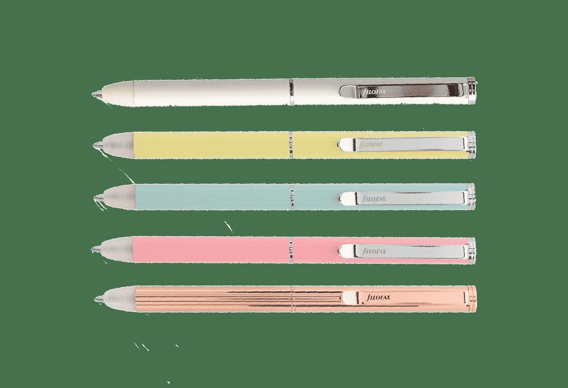 Les bic Filofax – rechargeables et effaçables