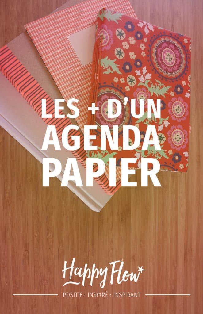 Dans cet article nous prenons conscience que l'agenda papier est bien plus qu'un agenda, il est source de bien-être.