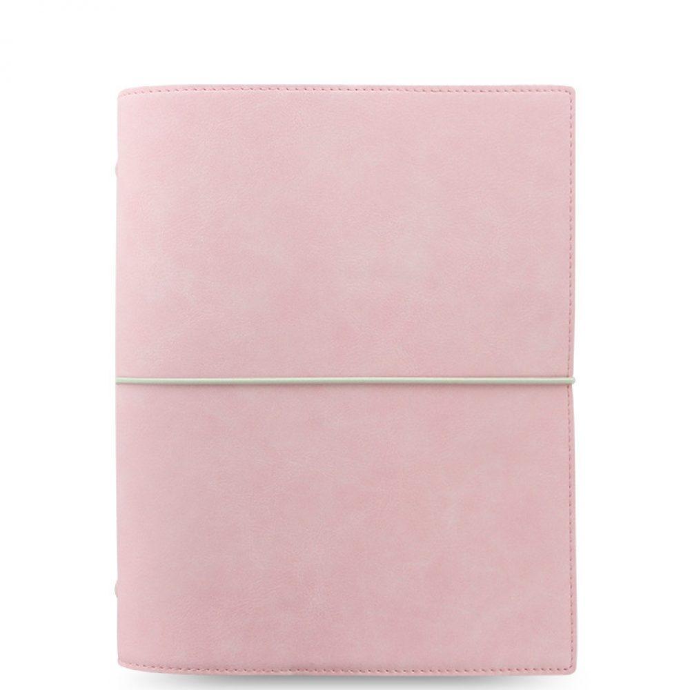 Planner Filofax Domino Soft rose avec la recharge pour une vie WouaW de HappyFlow