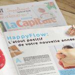L'agenda pour une vie WouaW dans le supplément noël de La Province, Nord Eclair, La Nouvelle Gazette, La Meuse et La Capitale