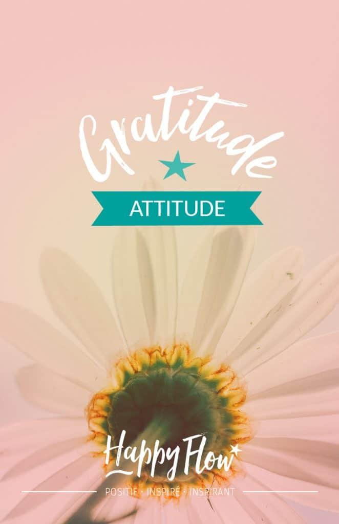Essayer la gratitude attituude